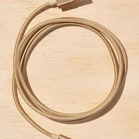 Le Cord Gold iPhone And iPad USB Charger