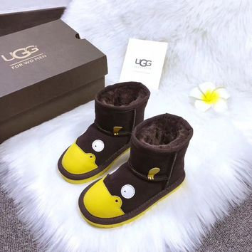 Ugg Baby Fashion Wool Snow Boots-9