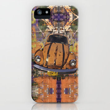 VW ~Bug power iPhone Case by Bruce Stanfield