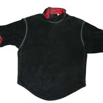 WSFENCING  Leather Jacket with Short Sleeve