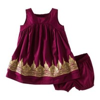Tea Collection Baby Girls' Golden Temple Dress