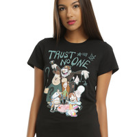 Gravity Falls Trust No One Girls Tee