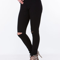 Sit Pretty High-Waisted Skinny Jeans