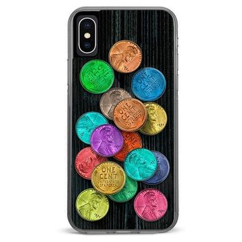 Lucky Pennies iPhone XR case