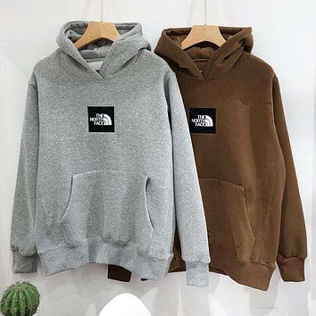 The North Face Autumn Winter Trending Women Men Stylish Embroidery Hoodie Sweater Top Sweatshirt