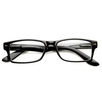 New Optical Quality Frame Clear Lens Glasses
