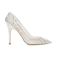 BCBGeneration Ovation Heel in White