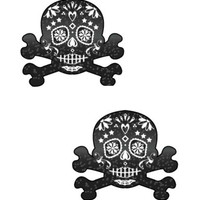 Day of the Dead Skull Pasties