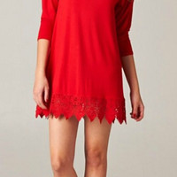 Fête Dress - Red