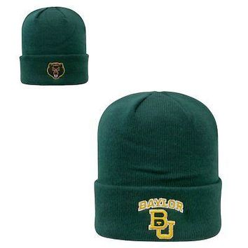 Licensed Baylor Bears NCAA Knit Youth Tow Cuffed Beanie Stocking Stretch Sock Hat Cap KO_19_1