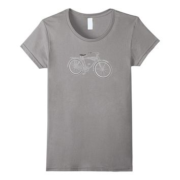 Vintage Bicycle Graphic T-Shirt Cycling Bike Tee
