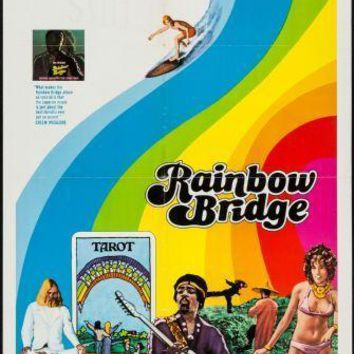Rainbow Bridge Poster Standup 4inx6in