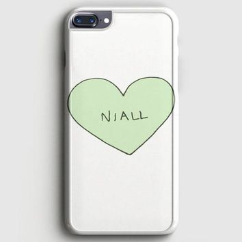 Niall Horan Heart Tshirt iPhone 8 Plus Case