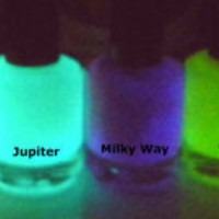 Glow-in-the-Dark Nail Polish - Green - SATURN - Custom Blended Nail Polish/Lacquer - Regular Full Sized Bottle (15 ml size)