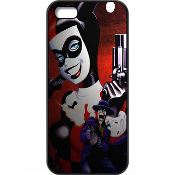 "DC Comics Harley Quinn & The Joker ""Mad Love"" Hard Case for iPhone 5/ 5s /SE"