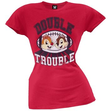 Chip 'N Dale - Double Trouble Juniors T-Shirt