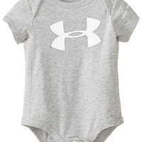 Under Armour Baby-Boys Newborn Core Logo Baselayer Tgh Bodysuit