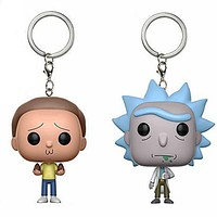 Keychain Rick and Morty