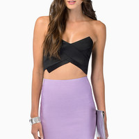 High Voltage Bustier Top $33