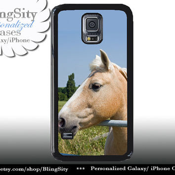 Horse Head S5 Case Equine Palamino Horse Galaxy S4 Case S3 Cover Note 2 3 4 Shell Cover Skin Bumper Equestrian Photo