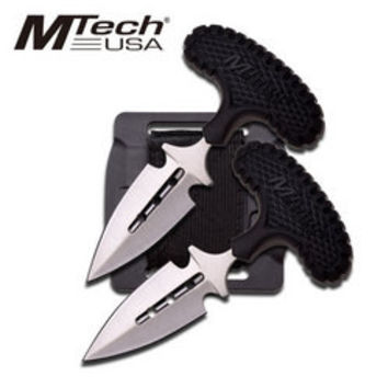 M Tech Twin T Handle Daggers MT20-46BK