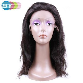 PEAP78W BY Virgin Human Hair Body Wave Brazilian Lace Front Wigs Natural Color 10-24inch Human Hair Wigs Free Shipping