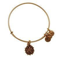 Water Lily Charm Bangle