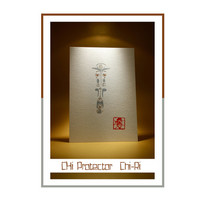 "Feng-shui Chi Protector for West ""Chi-Ri""- Original Acrylic Painting, Acrylic Painting on Paper, Feng-shui friendly, Free Delivery"