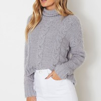 Perfect Day Knit Grey