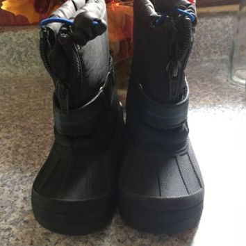 Toddler Snow Boots, Koala Kids Snow Boots Black, Size 6, Worn Once