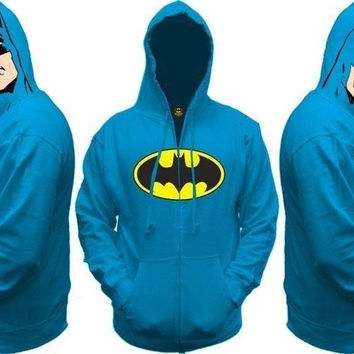 Dark Knight Batman All View Zip Hoodie
