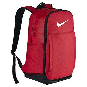 Nike Brasilia (Extra Large) Training Backpack University Red/Black/White Size X-Large