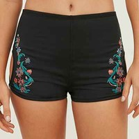Without Walls Embroidered Hot Short - Urban Outfitters