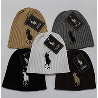 x1love  POLO  Women Men Winter Knit Hat Cap
