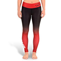 Arkansas Razorbacks Womens Official NCAA Gradient Print Leggings