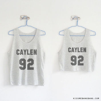Caylen 92 Tank Top & Crop Tank Top / JC Caylen / Youtuber Shirt / JC Caylen / Tumblr / Vine