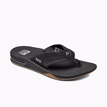 Reef Fanning Sandals Black