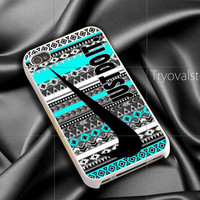 just do it nebula aztec mint iphone case ,samsung case for iphone 4/4S,5/5S,5C Accesories