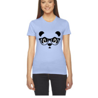 panda with glasses - Women's Tee