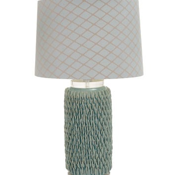 The Beautiful Ceramic Acrylic Table Lamp