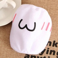 Baost White Emoticon Mouth-Muffle Kaomoji Anti-Dust Cute Kawaii Face Mask - 1