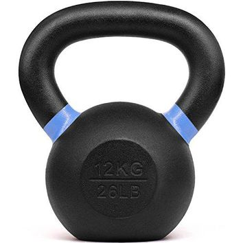 Cast Iron Competition Weight Kettlebell – Multi Color & Weight Available: 4, 6, 8, 12, 16, 20, 24, 32, 40 kg