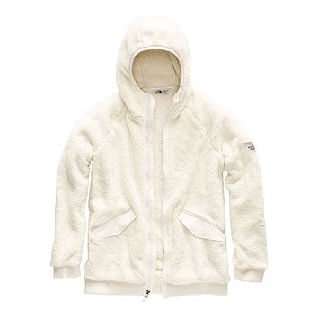 Women's Campshire Bomber in Vintage White by The North Face - FINAL SALE