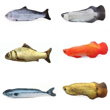 Fish Shape Cat Favor Toy