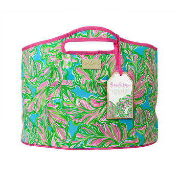 Insulated Beverage Bucket {In the Bungalows} - Lilly Pulitzer