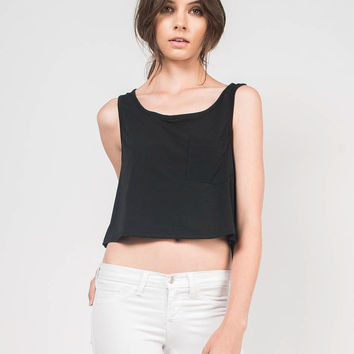 Simple Pocket Tank -  Large