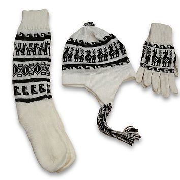 Alpaca Inca Gloves