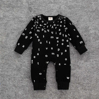 Trendy Long Sleeve Stylish Rompers for Infant Boys