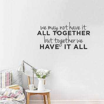 Wall Decal Vinyl Sticker Decals Art Decor Design Lettering Sign Quote Home Family Inspiritional Words Living Room Bedroom (r224)