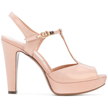 L'Autre Chose D'Orsay T-Bar Sandals - Farfetch